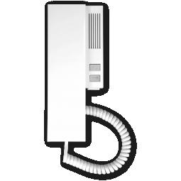 Unifon cyfrowy INS-UP magnetyczny biały