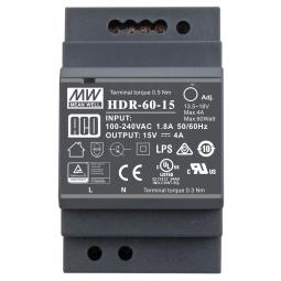 Zasilacz HDR-60-15 DIN