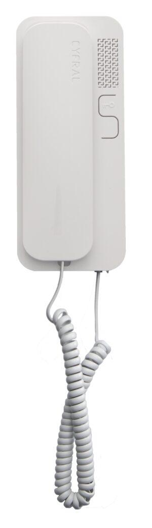 Unifon CYFRAL SMART biały analogowy