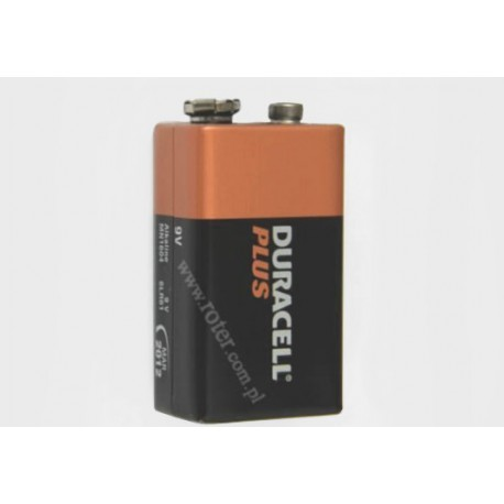 Bateria 9V 6F22 alkaliczna Duracell