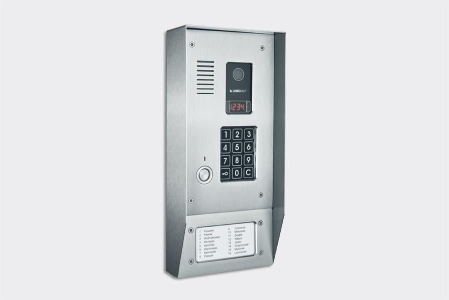 Panel audio pionowy, ze stali nierd. , CP-2523TP
