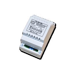 Transformator do centrali DIN 12V 0,8A