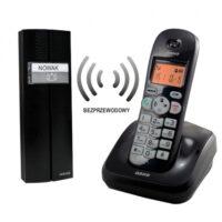 Bezprzewodowy tele-domofon, czarny, PORTA